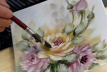 Rose porcellana