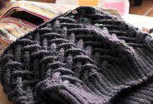 Handwerken / Warme steek