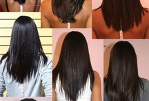 Natural Hair | Length Checks / by OfficiallyNatural Hair & Beauty