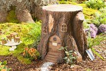 Fairy gardens/Fe-hager