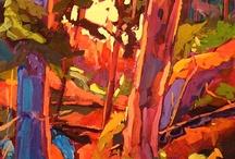 Peintures d'arbres