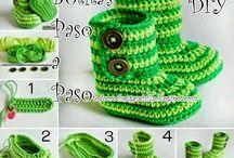 Botitas crochet