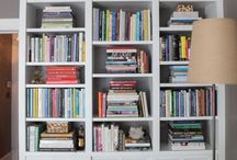 S h e l v e s  O n  S h e l v e s / Variety of different shelf designs that Kate has created or that inspire THM visions!