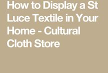 How to Decorate Your Home with Handmade Textiles / Learn how to decorate and use handmade, hand embroidered and hand woven textiles made by women artisans from around the world.  Learn innovative ways to showcase the global travel treasures you acquired on your last vacation.