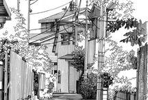 Manga Backgrounds