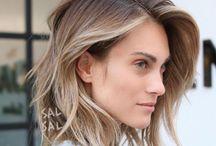 Taglio di capelli a caschetto lungo