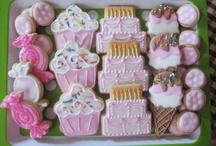 Festa aniversário biscoito