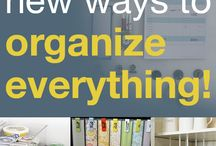 Organization - Home Life / by Bri Patience