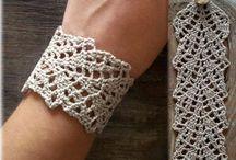 Bracelete crochê