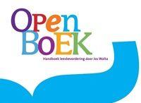 Educatie|Open Boek / Informatie die voorbijkomt tijdens de training Open Boek wordt op dit bord verzameld voor (toekomstige) leescoördinatoren.