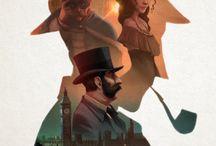 Sherlock Holmes illustrations