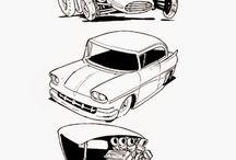 Caricaturas de Autos