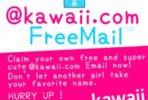 kawaii.com FreeMail / the cutest email provider !!
