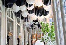 Black & White weddings / Ideas for the black & white theme.