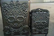 valise tête de mort