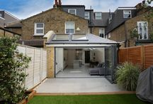 Stylist, contemporary kitchen extension in terraced Tooting property / Wonderful example of use of space in rear terrace conversion