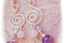 wire earrings / drótékszerek