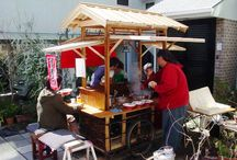 Japanese Food Stands(屋台)