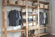 Wardrobes / Ideas for furniture to hold my clothes and things