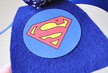 Superhero Party Ideas / Lots of awesome ideas to make you little man's superhero party as awesome as he is!