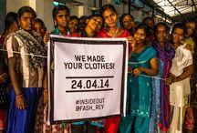 Fashion Revolution day / Fashion Revolution Day. Op 24 april 2014 is een dag in het teken van de Rana Plaza ramp in Bangladesh van 24 april 2013.De slechte arbeidsomstandigheden in de textielindustrie moeten veranderen. Op deze dag willen wij laten zien dat het ook anders kan. Op onze website www.lotika.nl verkopen we sinds 2007 alleen Fashion en liffestyle producten die onder goede arbeidsomstandigheden gemaakt worden.