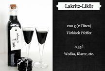 Food: Likör,  Cocktails und Co