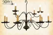 Katie's Handcrafted Lighting / Handcrafted colonial style lighting by Katie's