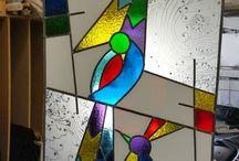 glas in lood ramen