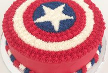Birthday Captain America