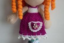 Cycla crochet doll