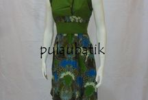 model dress batik solo