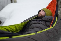 insulated hammocking... / How to relax through the winter months, and general cold weather fun.