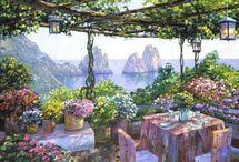 Gardens, Cafes