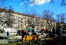 Trödelmarkt auf dem Boxhagener Platz / Finde den Wochen- und Trödelmarkt jeden Samstag und Sonntag hier in in viertel Friedrichshain