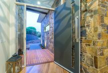Entry Door Inspiration / An stunning entry door can give your house that wow factor.
