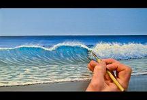 jak malować fale