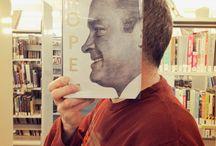 Bookish selfies and bookfaces