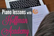 Piano lessons / Different piano curriculums and method books.