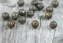 Charms, Beads, Findings / Official Pinterest Board for my shop, Castlebarn Curio  / by Heather Burditt