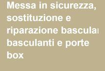 Basculanti - Porte Box