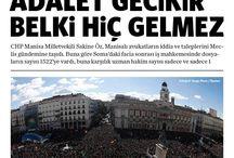 2015 Şubat - Manşetler
