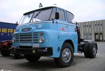 Hungarian bus and trucks,motor.