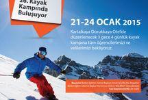 Kayak kampında 26. randevu
