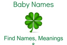 Irish Baby Names / Fun and unique Irish baby names!