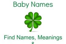 Irish Baby Names / Fun and unique Irish baby names!