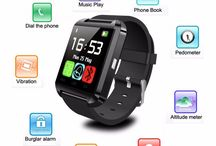 Touch Screen Talk Text Altimeter Vibration Fitness Tracker, free shipping