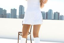 Ariana grande in white / Here are some pics of ari in white
