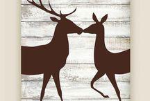 Deer decortion