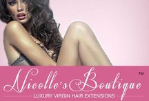 Nicolle's Boutique / Luxury Virgin Hair Extensions Brand