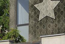Fassadentapeten